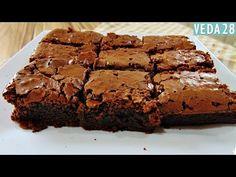 BROWNIE DE CHOCOLATE SUPER FÁCIL E DELICIOSO #VEDA28 - YouTube