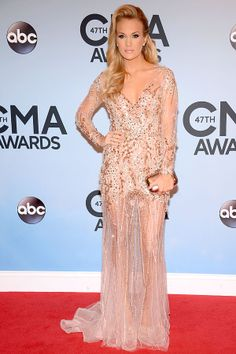 CMA's red carpet: Carrie Underwood