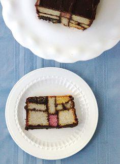 Loving this Mondrian-inspired cake!