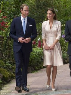 Arrival in Singapore & The Botanic Gardens | Kate's Clothes