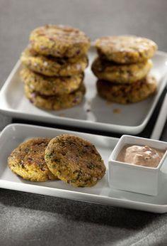 Rezept aus VEGAN FOR FIT: Quinoa-Buletten-amicella  Für Anfänger