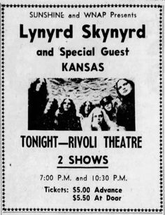 Pop Posters, Band Posters, Music Posters, Poster Prints, Concert Tickets, Concert Posters, Old Rock, Lynyrd Skynyrd, Rock Concert