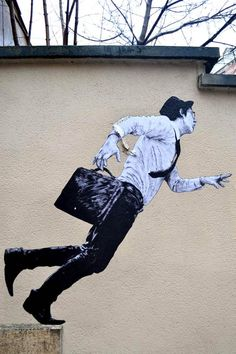 Street Art by French artist Levalet