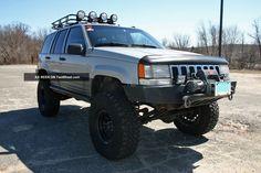 Canastilla corta para agregar quemacocos Jeep Grand Cherokee Laredo, Monster Trucks, Vehicles, Layette, Baskets, Car, Vehicle, Tools
