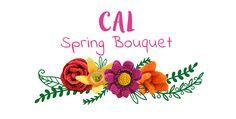 Crochet Along Spring Bouquet