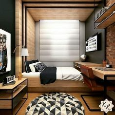 Bedroom Setup, Bedroom Bed Design, Modern Bedroom Design, Bedroom Layouts, Small Room Bedroom, Home Bedroom, Bedroom Decor, Small Bedroom Designs, Bedroom Styles