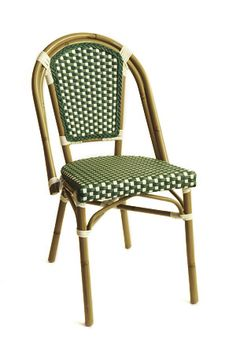 Aluminum Bamboo Look Chair in Green  http://www.seatingexpert.com/Proddet.asp?ProdID=1459=2=