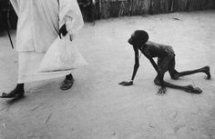 Brutality of life and the unfairness of aid. By Sebastião Salgado