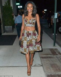 #Gabrielle #Union repping some #African inspired fashion