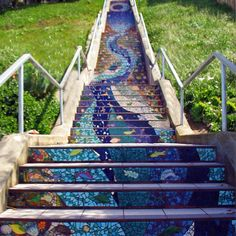 I want stairs that we do this kinda thing with.