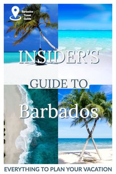 Insider'S guide to barbados - everything to plan your vacation. planning a quintessential escape? here's my insider's guide to visiting Caribbean Vacations, Dream Vacations, Vacation Trips, Greece Vacation, Caribbean Cruise, Vacation Spots, Barbados Travel, Asia Travel, Barbados Resorts