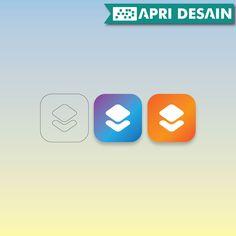 Desain Logo dan Icon aplikasi aplikasi mobile by ApriDesain.id  Pesan Desain http://www.apridesain.id/layanan/jasa-desain-logo/ atau Call/SMS/WhatsApp : 0812-9605-6898