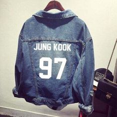 kpop Bts bangtan boys Jimin jhope jungkook women bomber winter Denim bts baseball jacket college jacket bts-in Basic Jackets from Women's Clothing & Accessories on Aliexpress.com | Alibaba Group