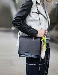 Harriet wears the High Street at LFW | ELLE UK