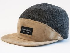a91fd49d2f7 Algonquin 7 Panel Cap By RAISED BY WOLVES  snapback  snapbax