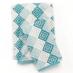Apt. 9 Mosaic Diamond Bath Towels