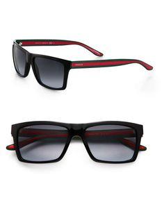 Gucci Web Stripe Sunglasses..Oooh, yes!