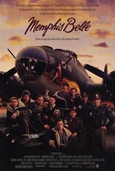 High resolution official theatrical movie poster for Memphis Belle Image dimensions: 1951 x Directed by Michael Caton-Jones. Starring Matthew Modine, Eric Stoltz, Tate Donovan, D. Eric Stoltz, Great Films, Good Movies, Belle Movie, Cinema Posters, Movie Posters, Memphis Belle, War Film, Internet Movies