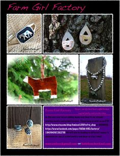 So much to choose from...show cattle (heifer or steer multiple breeds), show pigs, show lambs, show goats, show horses, show ring bling : earrings, bracelets, necklaces, ornaments, rings and home decor!!!