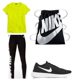 """Untitled #13"" by hongjina on Polyvore featuring NIKE and J.Crew"