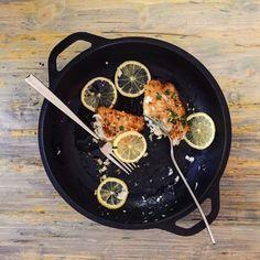 Sole Meuniere | RafaellaSargi.com #recipe #french #fish