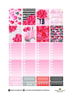 50% OFF SALE / LOVE Story Weekly от PaperCrownPlanner на Etsy