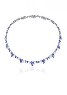 Chopard Necklace A DELICATE SAPPHIRE AND DIAMOND SET