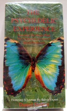 The Psychedelic Experience VHS Salvia Divinorum Drugs LSD Hallucinations Drugs