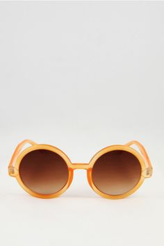 Wasteland Orange Crush Round Sunglasses, $28, available at Wasteland.