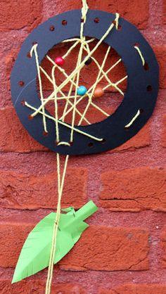 Indianen ruimtelijk knutselen » Juf Sanne Indian Pow Wow, Indian Boy, Crafts To Do, Crafts For Kids, Cowboys And Indians, Preschool Art, Diy For Kids, Aztec, Dream Catcher