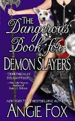 Are you part demon slayer?  Have you read The Dangerous Book for Demon Slayers by Angie Fox and wondered if you have a little slayer in you?  Take the quiz and find out... there was one ? I could go 2 ways on.. so I am either 86% or 98%... hmmm