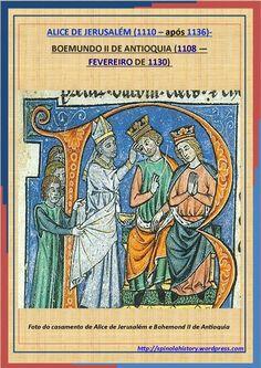 ALICE DE JERUSALÉM e BOEMUNDO II DE ANTIOQUIA
