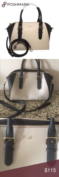 Kate Spade Pippa Satchel Designer handbag in excellent condition bought this season. Small mark on bottom of the bag as seen in photos. kate spade Bags Satchels