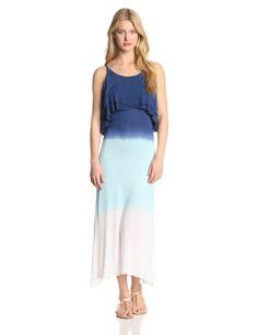 Pop Over Top Maxi Dress by Raviya