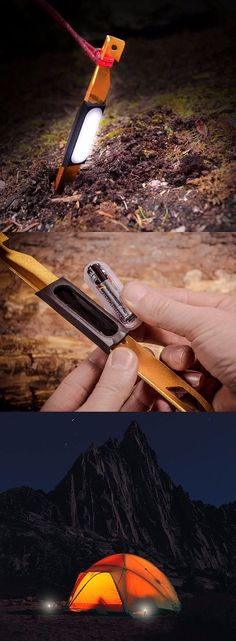 UCO LED Light-Up Tent Stakes - Camping gear @thistookmymoney