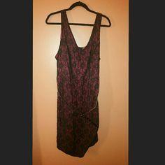 Torrid NWT faux wrap dress NWT, belt included torrid Dresses