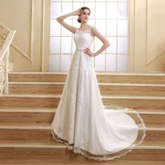 Find More Wedding Dresses Information about Ivory Lace Mermaid Wedding Dresses 2016 Fashionable Sweet Handmade Crystals Bridal Gowns wedding Dresses Vestidos De Noiva SQS06,High Quality dress widing,China dresses sears Suppliers, Cheap dress full from cici fang's store on Aliexpress.com