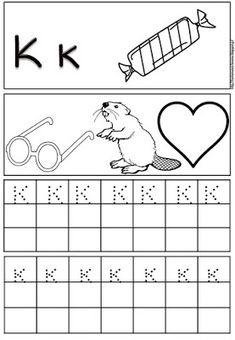 Δραστηριότητες, παιδαγωγικό και εποπτικό υλικό για το Νηπιαγωγείο & το Δημοτικό: Φύλλα εργασίας γραφής της αλφαβήτας (πρώτο μέρος) Preschool Themes, Preschool Printables, Preschool Worksheets, Activities For Kids, Greek Alphabet, Alphabet For Kids, Learn Greek, Greek Language, Learning Numbers