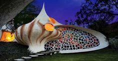 Many tiny houses, due to their sustainability, have taken on shapes that represent nature. Some look like pumpkin-shaped domes, others bloom open like flowers, and many look like logs — including onetrippy log that look like it's straight out of the pages of Alice In Wonderland. Yet, the Nautilus house by Mexican architect Javier Senosiain... View Article