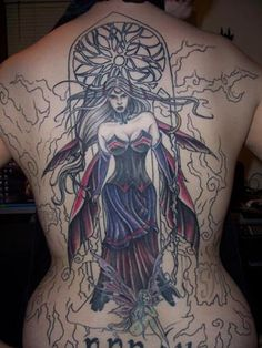 Dark Fae | Here is a gallery of fairy tattoos. It is a beautiful expression of ...