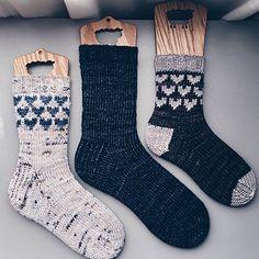 Ravelry: Sole Mate Heart Socks pattern by Elly Fales