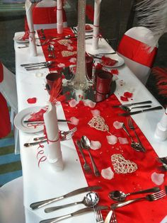 Valentines Table Decorations
