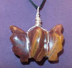 Caramel Pakistan Onyx Butterfly Wrap