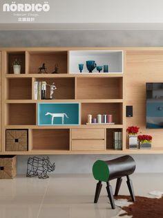 Cele două camere, cu bucătărie deschisă către living, ale acestui apartament din Taiwan au fost înveselite de designerii de la Nordic...