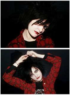 Siouxsie Sioux photographed by Peter Noble. Siouxsie Sioux, Siouxsie & The Banshees, Goth Bands, Goth Music, Cinema, Ice Queen, Post Punk, Buffy, Music Is Life