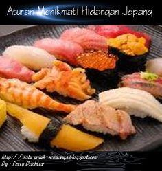 Aturan Menikmati Hidangan Jepang