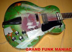 The Grand Funk Railroad guitar:Musiccraft Messenger! Grand Funk Railroad, Music Crafts, Custom Guitars, Music Guitar, Vintage Guitars, Classic Rock, Bass, Arch, Google
