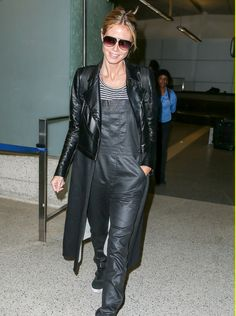 Heidi Klum in the Condor while strutting her stuff at LAX over the weekend #DITAeyewear