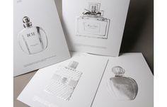 Flacons iconiques Christian Dior Parfums