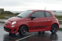 Fiat 500 Abarth.  Who says tiny cars aren't fun to drive?